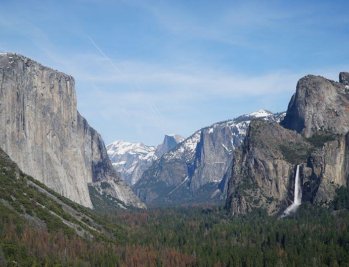 Yosemite Valley At Bass Lake California
