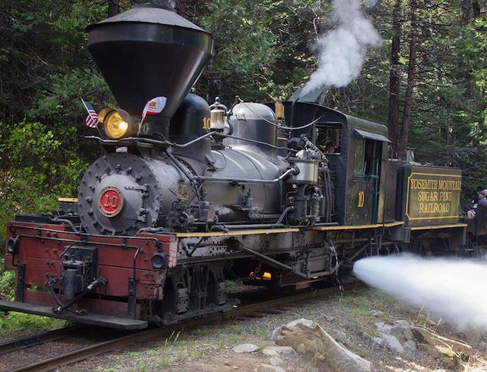Sugar Pine Railroad At California