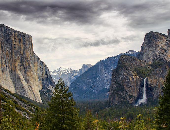Yosemite National Park At Bass Lake California