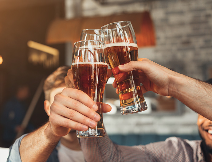 Drink and Happy Hour Special at Bass Lake Hotel