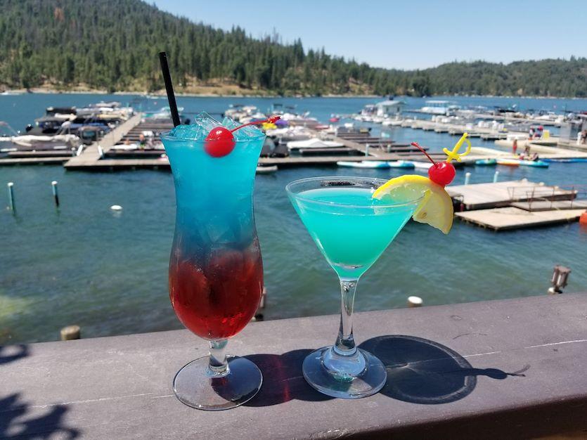 Happy Hour at Bass Lake Hotel