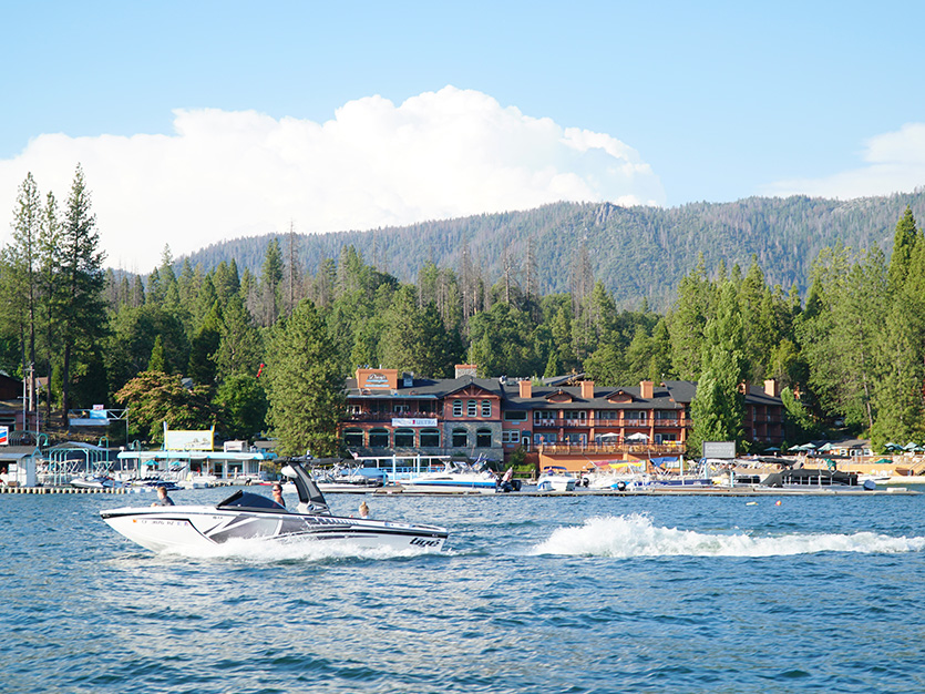 Bass Lake in the Movies at Bass Lake Hotel
