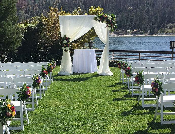 Weddings At The Pines Resort Bass Lake California